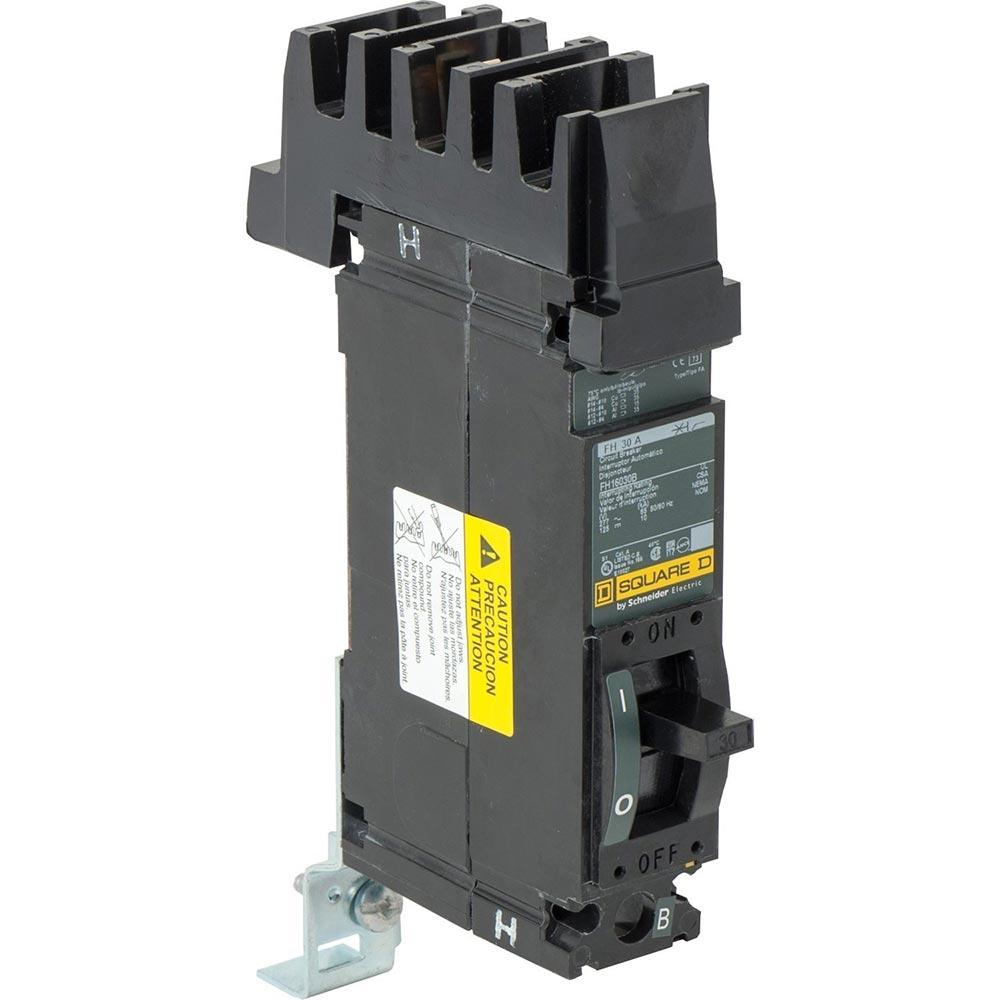 FH16030B - Square D 30 Amp 1 Pole 277 Volt Molded Case Circuit Breaker