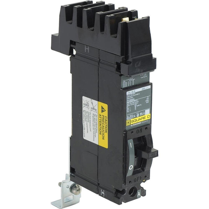 FH16040A - Square D 40 Amp 1 Pole 277 Volt Molded Case Circuit Breaker