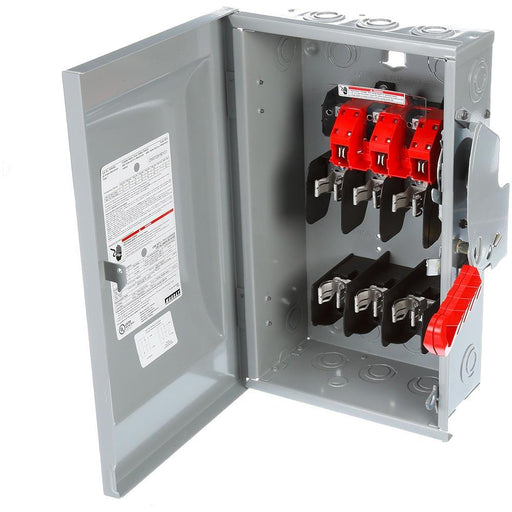 HF361R - Siemens 30 Amp 3 Pole 600 Volt Heavy Duty Safety Switch