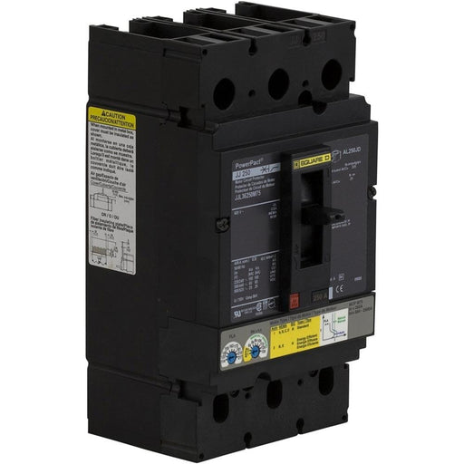 JJL36250M75 - Square D 250 Amp 3 Pole 600 Volt Molded Case Circuit Breaker