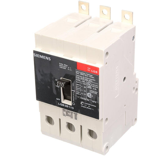 LGB3B110B - Siemens 110 Amp 3 Pole 600 Volt Bolt-On Molded Case Circuit Breaker