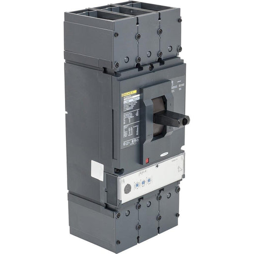 LJL36600U33X - Square D 600 Amp 3 Pole 600 Volt Molded Case Circuit Breaker