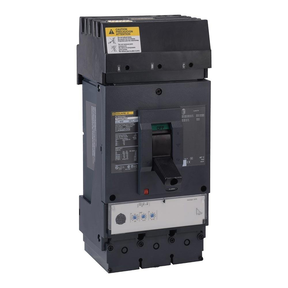 LLA36600U33X - Square D 600 Amp 3 Pole 600 Volt Molded Case Circuit Breaker