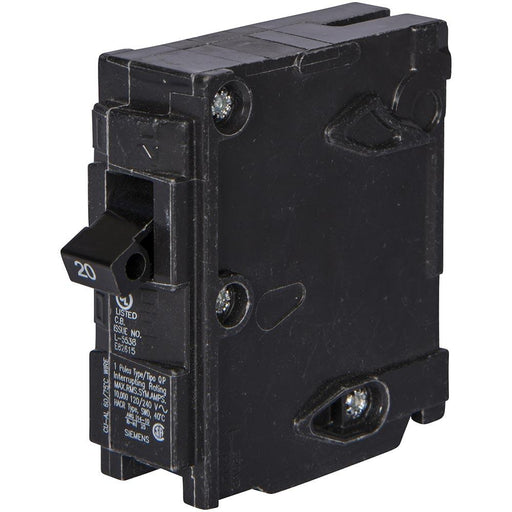 Q150H - Siemens 50 Amp 1 Pole 120 Volt Thermal Magnetic Circuit Breaker