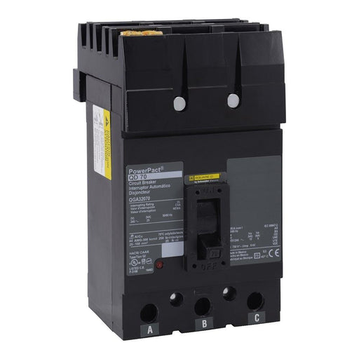 QGA32175 - Square D 175 Amp 3 Pole 200 Volt Molded Case Circuit Breaker