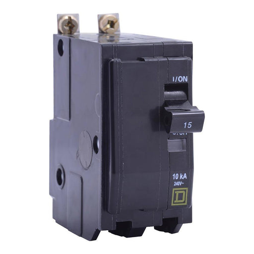 QOB215VH - Square D 15 Amp 2 Pole 120 Volt Bolt-On Molded Case Circuit Breaker