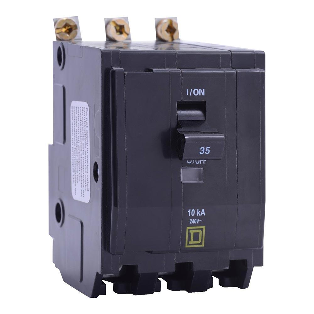 QOB370VH - Square D 70 Amp 3 Pole 240 Volt Bolt-On Circuit Breaker