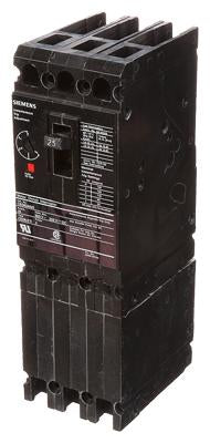CED63A025 - Siemens 25 Amp 3 Pole 600 Volt Bolt-On Molded Case Circuit Breaker