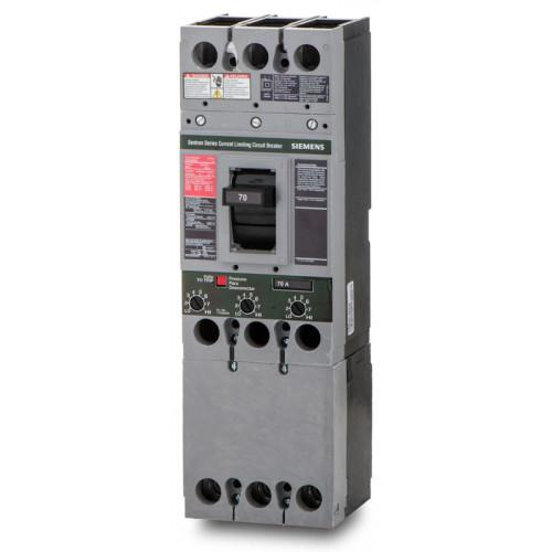 CFD63B070 - Siemens 70 Amp 3 Pole 600 Volt Bolt-On Molded Case Circuit Breaker