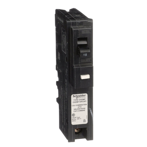 CHOM115PCAFI - HomeLine 15 Amp 1 Pole 120 Volt Plug-In Circuit Breaker
