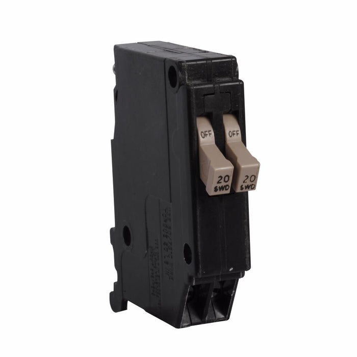 CHT2020 - Eaton Cutler-Hammer 20 Amp 2 Pole 120 Volt Plug-In Circuit Breaker