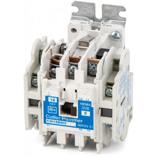 CN15BN3AB - Eaton Cutler-Hammer 18 Amp 3 Pole 600 Volt Non-Reversing Magnetic Contactor