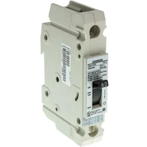 CQD160 - Siemens 60 Amp 1 Pole 277 Volt Molded Case Circuit Breaker