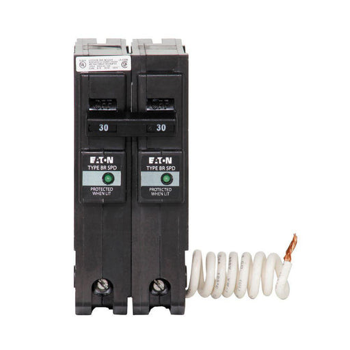 BR230SUR - Eaton Cutler-Hammer 30 Amp 2 Pole BR Breaker with Surge Protection