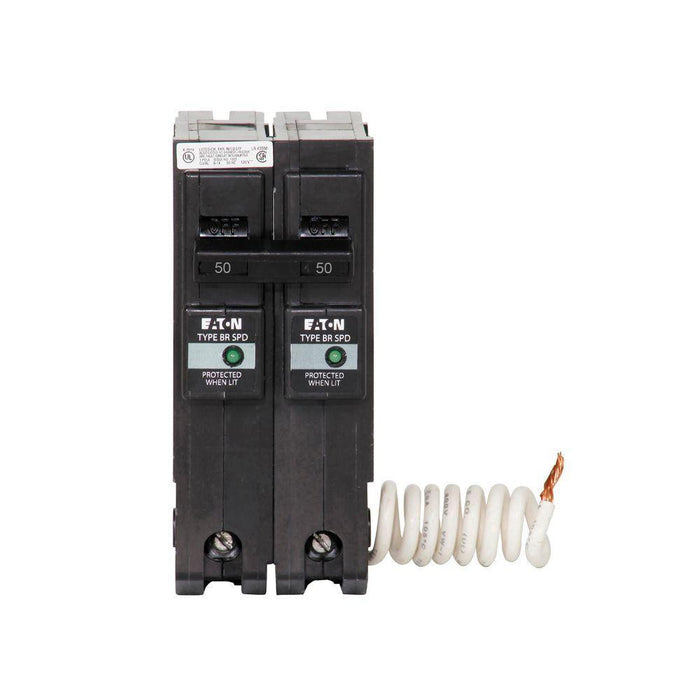 BR250SUR - Eaton Cutler-Hammer 50 Amp 2 Pole BR Breaker with Surge Protection