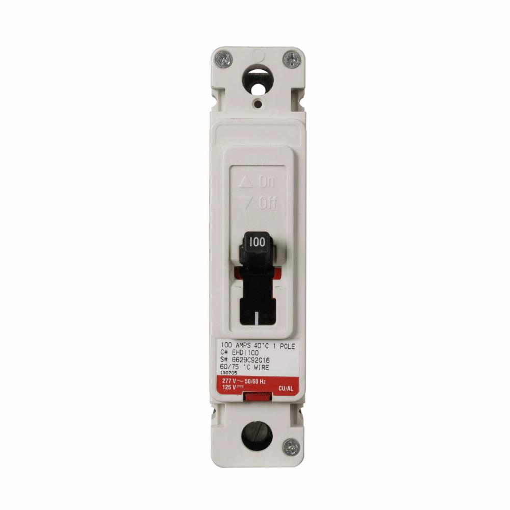 EHD1020L - Eaton Cutler-Hammer 20 Amp 1 Pole 277 Volt Molded Case Circuit Breakers