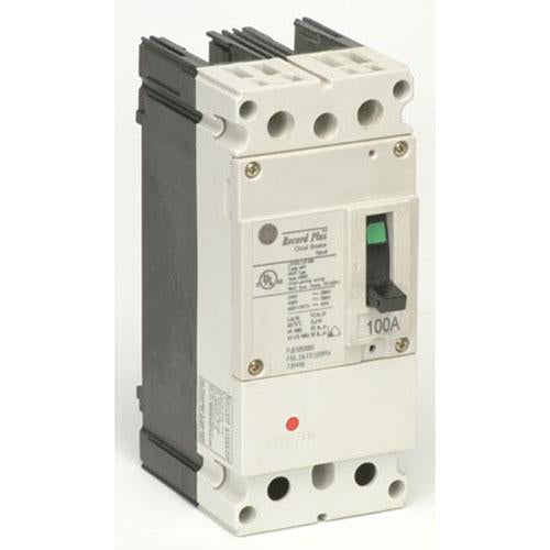 FBN26TE100RV - GE 100 Amp 2 Pole 600 Volt Molded Case Circuit Breaker
