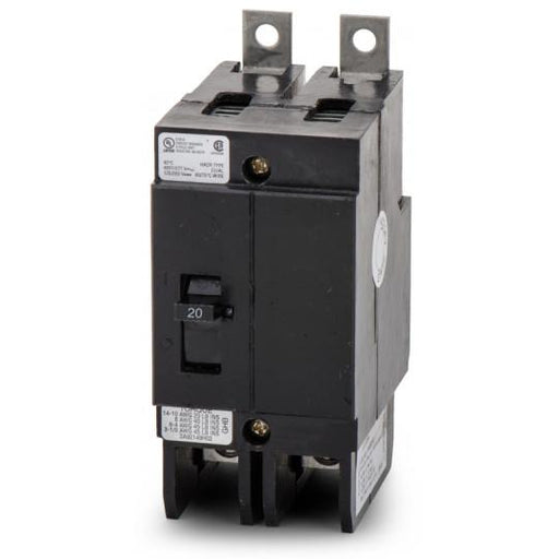 GHB2020 - Eaton Cutler-Hammer 20 Amp 2 Pole 480 Volt Bolt-On Circuit Breaker
