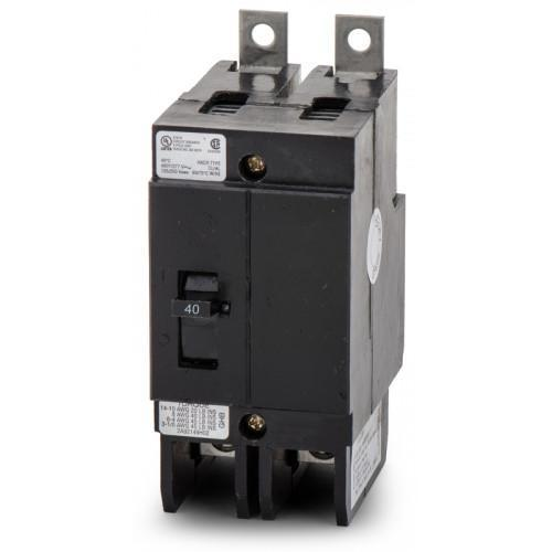 GBH2040 - Eaton Cutler-Hammer 40 Amp 2 Pole 480 Volt Molded Case Circuit Breaker