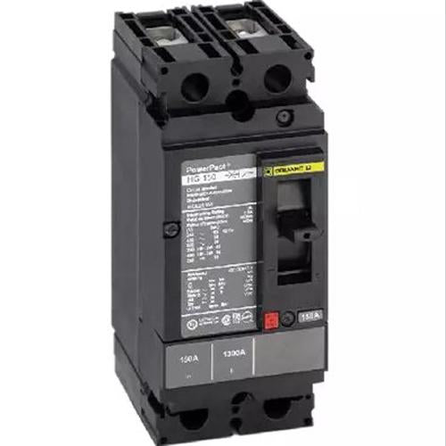 HDL26060 - Square D 60 Amp 2 Pole 600 Volt Plug-In Molded Case Circuit Breaker