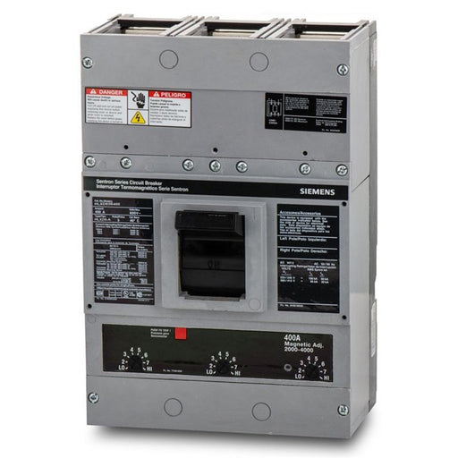HLXD63B600 - Siemens 600 Amp 3 Pole 600 Volt Bolt-On Molded Case Circuit Breaker