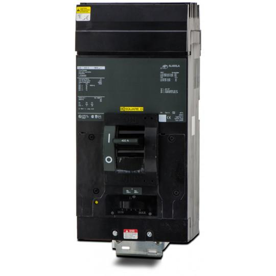 LA36400 - Square D 400 Amp 3 Pole 600 Volt Molded Case Circuit Breaker