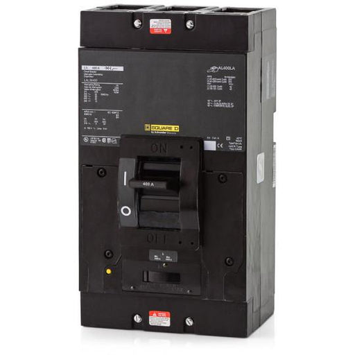 LAL36400 - Square D 400 Amp 3 Pole 600 Volt Molded Case Circuit Breaker