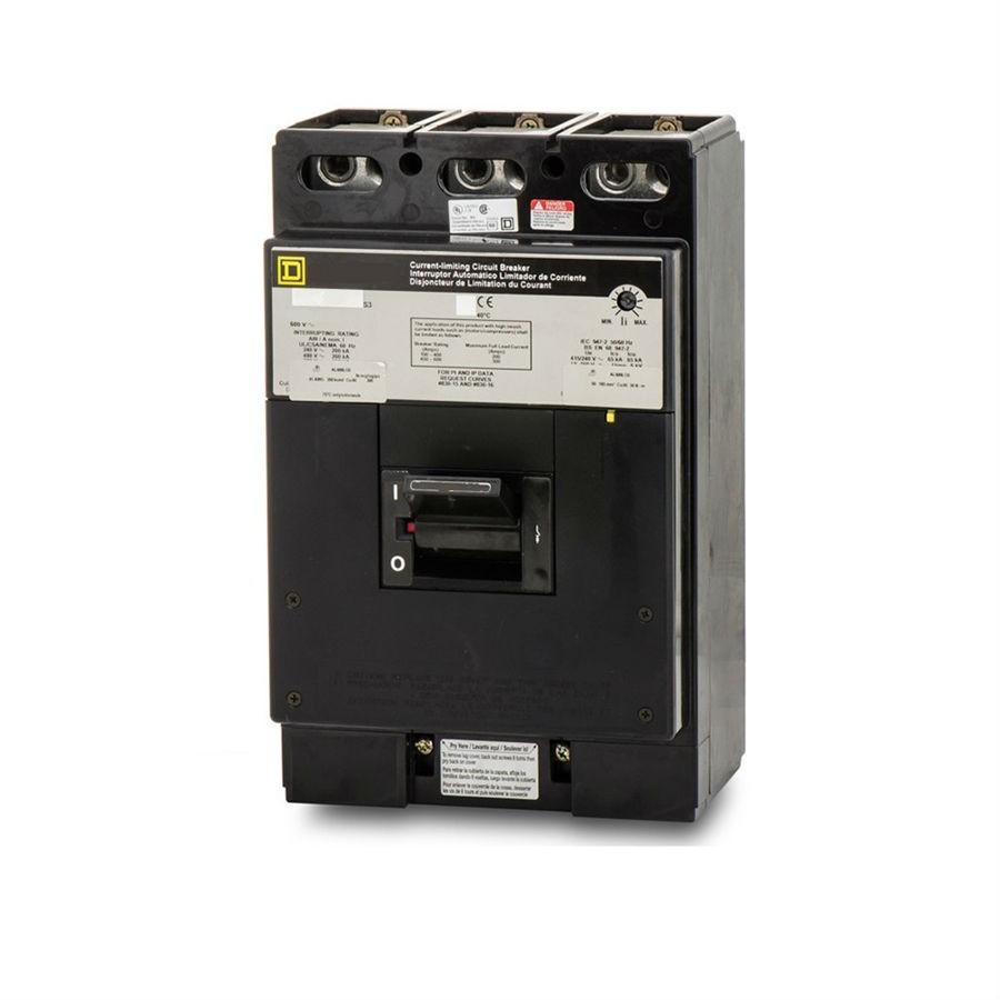 LCL36400 - Square D 400 Amp 3 Pole 600 Volt Molded Case Circuit Breaker