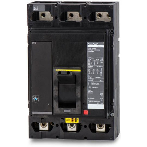 MGL36500 - Square D 500 Amp 3 Pole 600 Volt Solid State Molded Case Circuit Breaker
