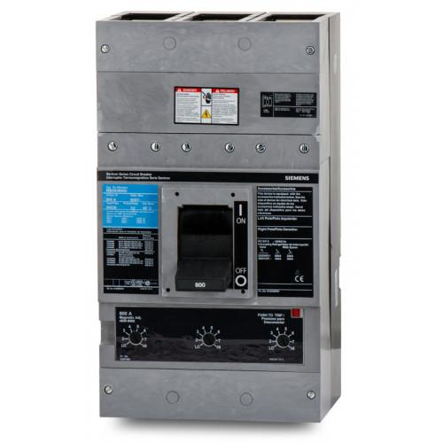MXD63B800 - Siemens 800 Amp 3 Pole 600 Volt Bolt-On Molded Case Circuit Breaker