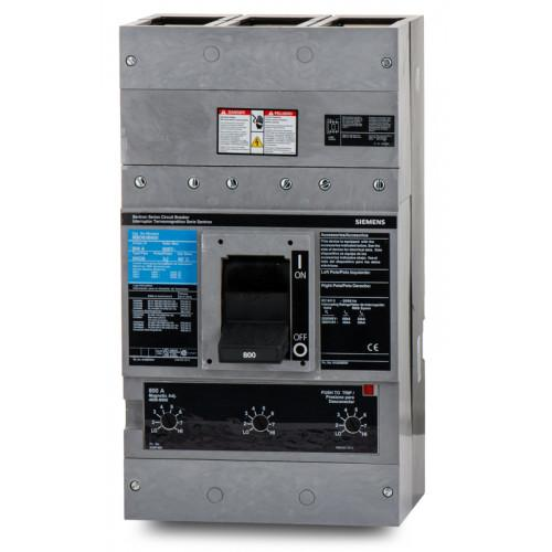MXD63L800 - Siemens 800 Amp 3 Pole 600 Volt Bolt-On Molded Case Circuit Breaker