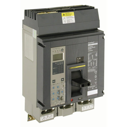 PGL36100U44A - Square D 1000 Amp 3 Pole 600 Volt Molded Case Circuit Breaker