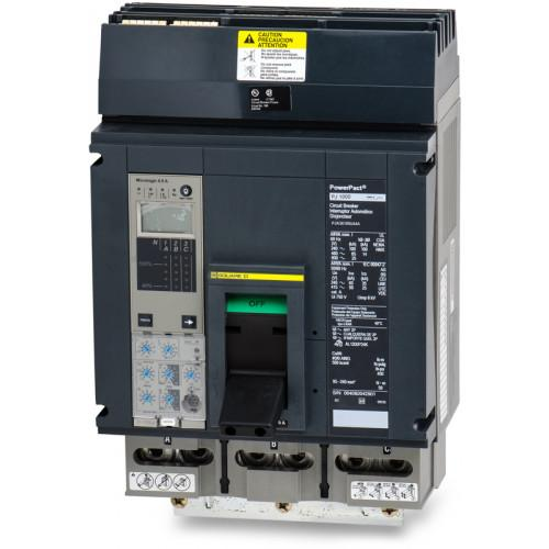 PJA36100U44A - Square D 1000 Amp 3 Pole 600 Volt Plug-In Molded Case Circuit Breaker