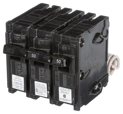 Q25000S01 - Siemens 50 Amp 2 Pole 240 Volt Molded Case Circuit Breaker