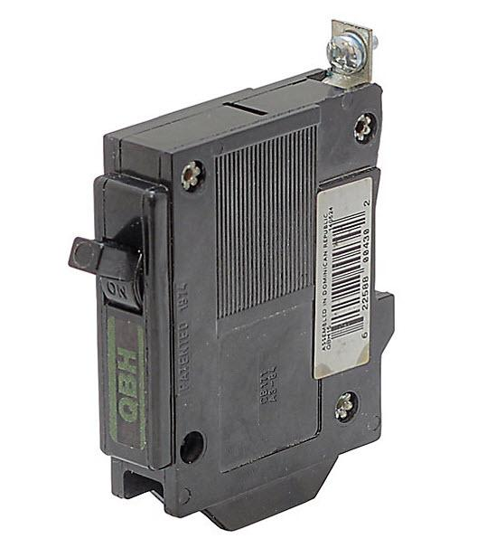 QBH15 - Commander  15 Amp Single Pole Circuit Breaker