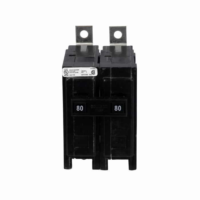 QBHW2080 - Eaton Cutler-Hammer 80 Amp 2 Pole 240 Volt Bolt-On Circuit Breaker
