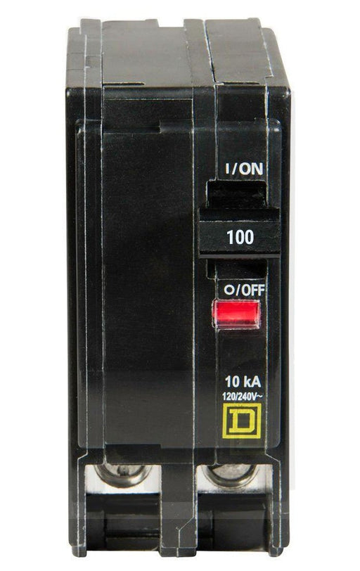 QO2100 - Square D 100 Amp Double Pole Circuit Breaker