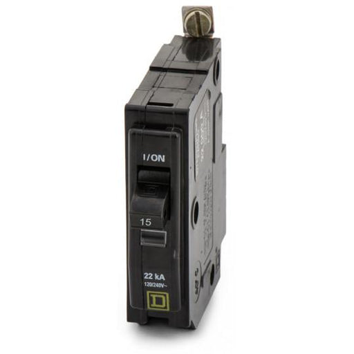 QOB115VH - Square D 15 Amp 1 Pole 120 Volt Bolt-On Circuit Breaker