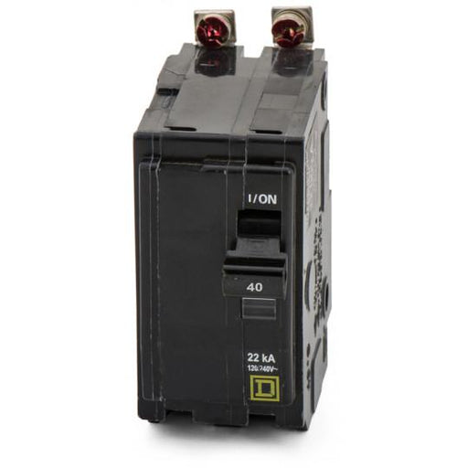 QOB240VH - Square D 40 Amp 2 Pole 120 Volt Bolt-On Circuit Breaker