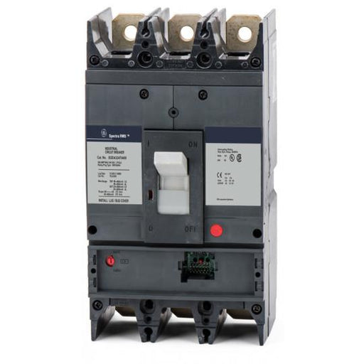 SGDA32AT0400 - GE 400 Amp 3 Pole 240 Volt Solid State Molded Case Circuit Breaker
