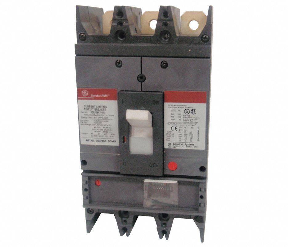 SGPA36AT0600 - GE 600 amp 3 pole Circuit Breaker Frame