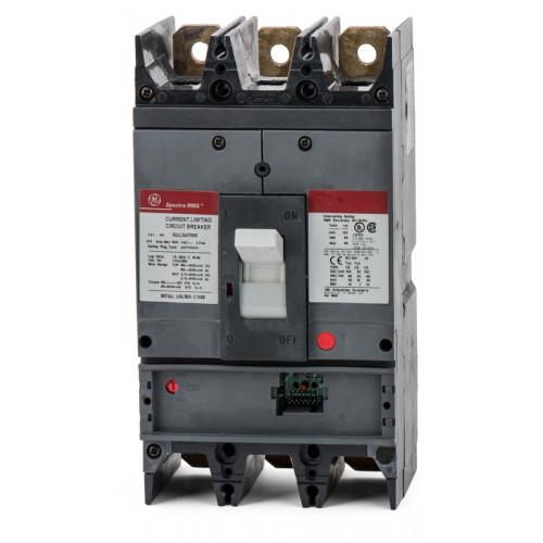 SGLL36AT0600 - GE 600 Amp 3 Pole 600 Volt Bolt-On Molded Case Circuit Breaker