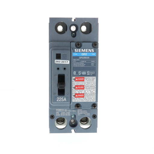 QR22B225 - Siemens 225 Amp 2 Pole 240 Volt Bolt-On Molded Case Circuit Breaker