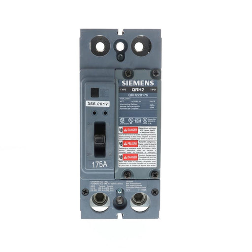 QRH22B175 - Siemens 175 Amp 2 Pole 240 Volt Bolt-On Molded Case Circuit Breaker