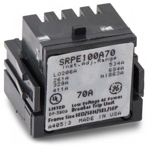 SRPE100A70 - GE 70 Amp 3 Pole 600 Volt Molded Case Circuit Breaker Rating Plug