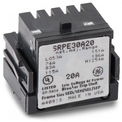 SRPE30A20 - GE 20 Amp 3 Pole 600 Volt Molded Case Circuit Breaker Rating Plug