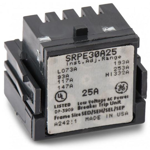 SRPE30A25 - GE 25 Amp 3 Pole 600 Volt Molded Case Circuit Breaker Rating Plug