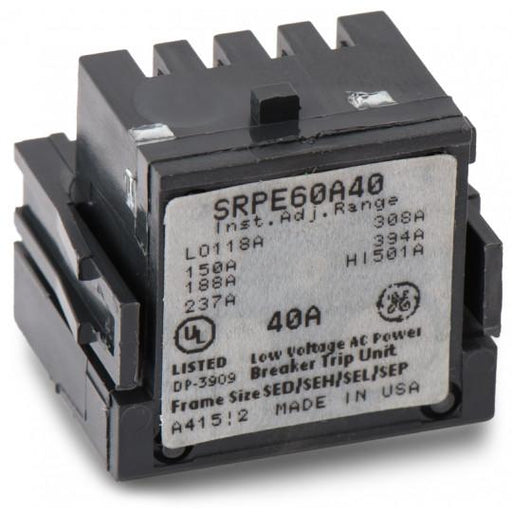 SRPE60A40 - GE 40 Amp 3 Pole 600 Volt Molded Case Circuit Breaker Rating Plug