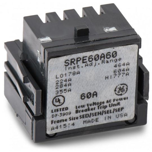 SRPE60A60 - GE 60 Amp 3 Pole 600 Volt Molded Case Circuit Breaker Rating Plug