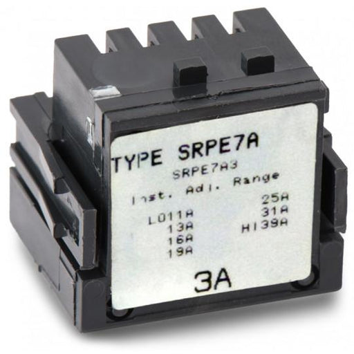 SRPE7A3 - GE 3 Amp 3 Pole 600 Volt Molded Case Circuit Breaker Rating Plug